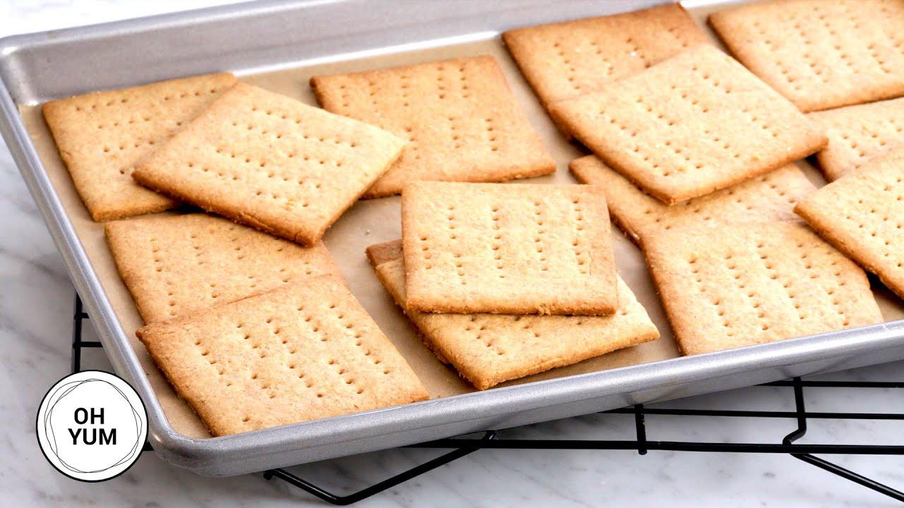 Professional Baker Teaches You How To Make CRACKERS!