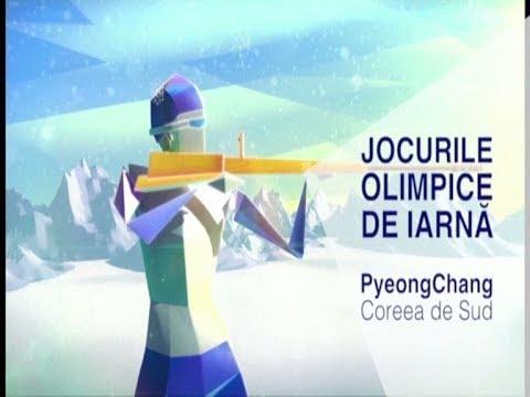 Jocurile Olimpice de Iarnă PyeongChang 2018, la TVR - YouTube