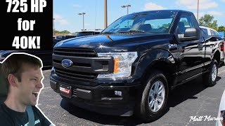 725 HP for $40,000! LFP Supercharged Ford F-150