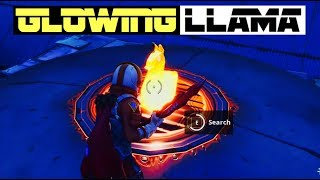 How To Get Working Golden / Glowing Llamas In Fortnite