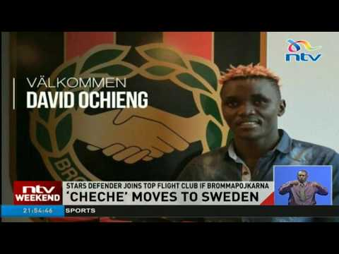 Harambee Stars' David Cheche moves to Sweden club