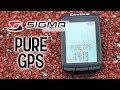 Pura diversión con PURE GPS de Sigma