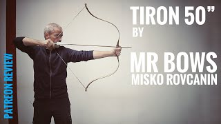 "50"" Tiron by Misko Rovcanin, Serbia - Archery Review"