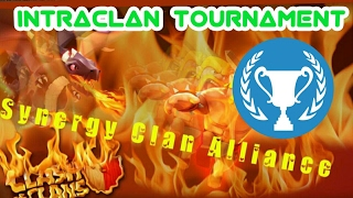 Clash Of Clans Sunday Vlog #2 - Synergy Clan Alliance IntraClan Tournament!