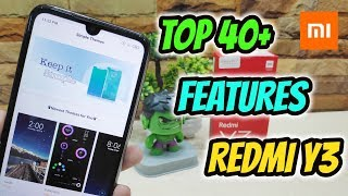 Xiaomi Redmi Y3 Top 30+ Hidden Features , Advance Features , Best Features ! Tips & Tricks !! HINDI