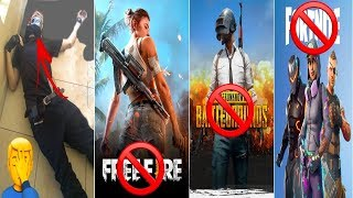 Urgent! GOVERNMENT MAY PROHIBIT GAMES LIKE FREE FIRE, PUBG AND FORTNITE IN BRAZIL