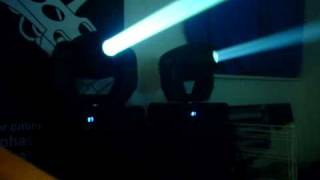 isolution i move 250s moving head lights demo