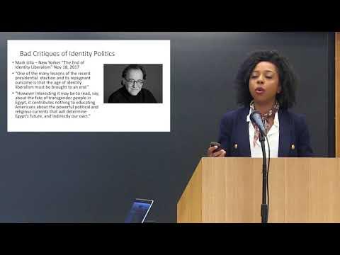 "Briahna Joy Gray's speech at the Harvard Law Forum: ""Policing Identity Politics in Trump's America"" (April 10, 2018)"