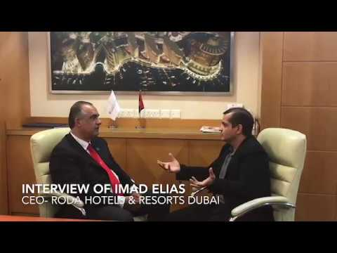 Raj Bhatt interviews CEO of Roda Hotels in Dubai
