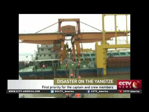 Captain Tim Taylor on emergency response for the capsized ship
