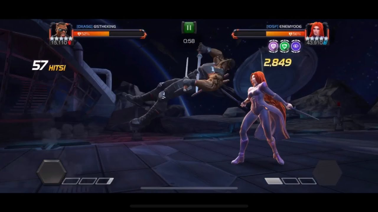 Mcoc Best Science Champs 2020 MCOC: Blade vs Medusa AW Boss Node   Marvel Contest Of Champions