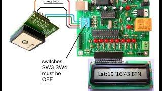 conexin del mdulo gps skylab skm53 y el sistema bolt 18f2550 con interfaz bluetooth hc 06