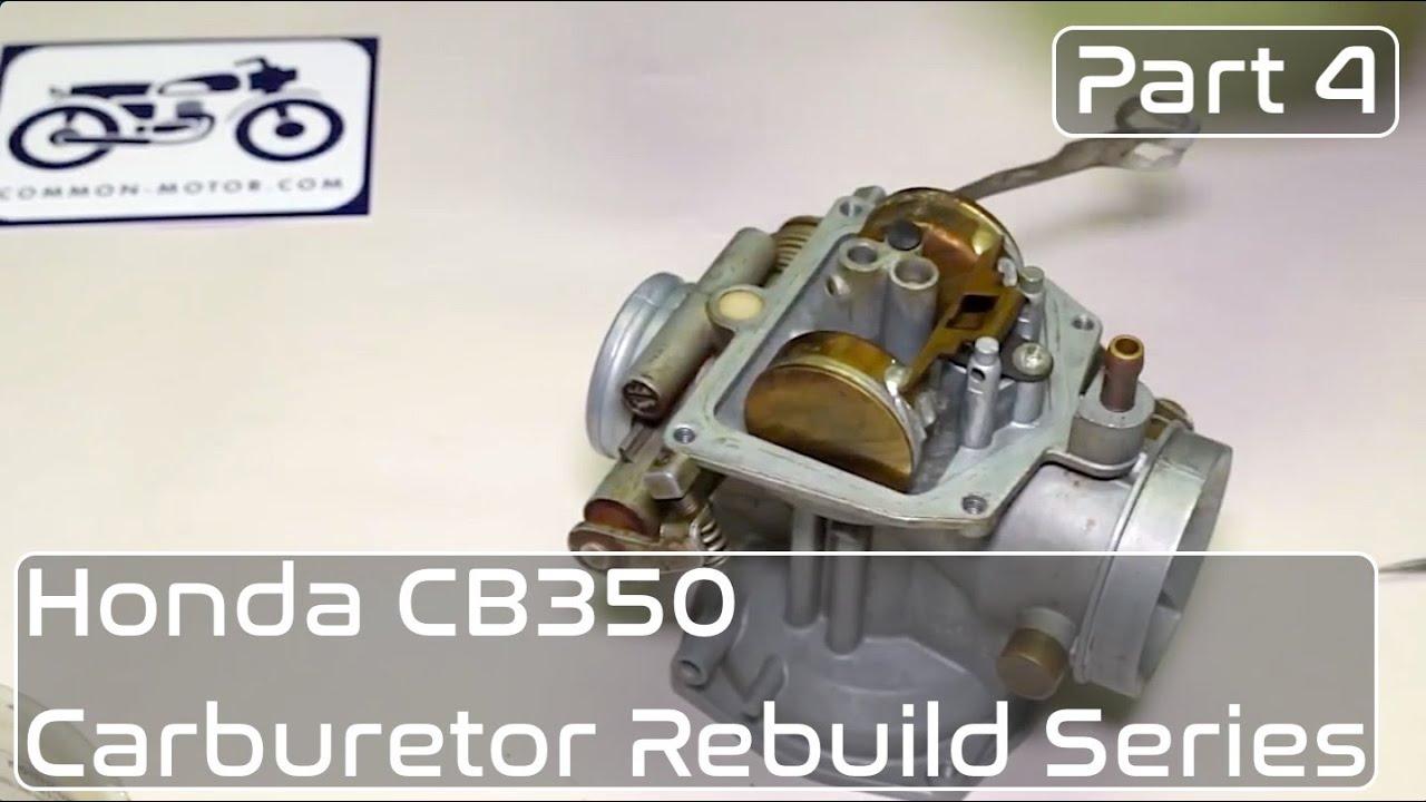 honda cb350 carburetor rebuild part 4 slide assembly diaphragm cl350 carb diagram [ 1280 x 720 Pixel ]