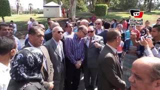 محافظ القاهرة يتفقد الحديقة الدولية بمدينة نصر في ثاني أيام العيد