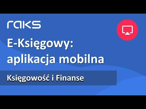 E-Księgowy. Aplikacja mobilna - wymiana danych z biurem rachunkowym.