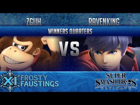 FFXI - Smash Ultimate Singles Winners Quarters -  Zguh (Donkey Kong, ) vs UGSG Ravenking (Ike)
