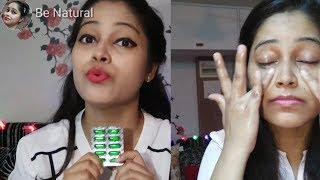 Benefits n uses of Vitamin E capsules,I use VitaminE on face|बेदाग चहरा पाने के लिए लगाए विटामिन ए