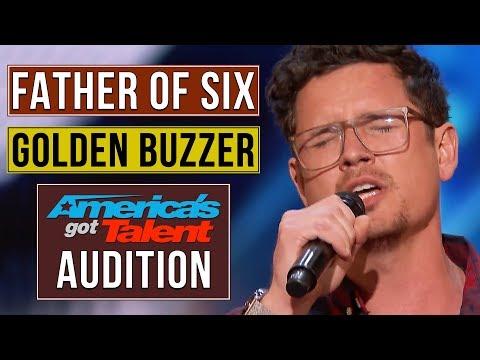 Father of 6 Michael Ketterer Earns Golden Buzzer from Simon Cowell | America's Got Talent 2018