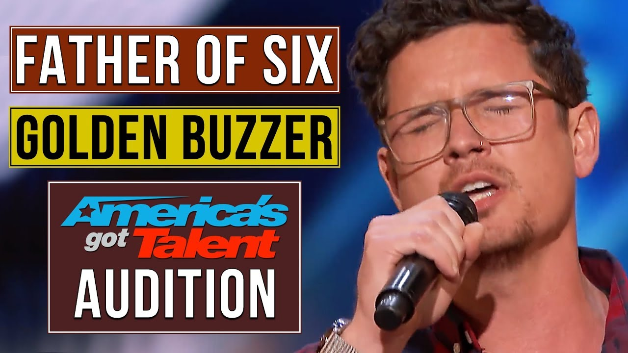 Father of 6 Michael Ketterer Earns Golden Buzzer from Simon Cowell | America's Got Talent 2018