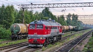 Железнодорожная рутина / Railway routine. /Электровоз ВЛ10-1624 и тепловоз ДМ62-1781(, 2014-07-18T08:09:49.000Z)