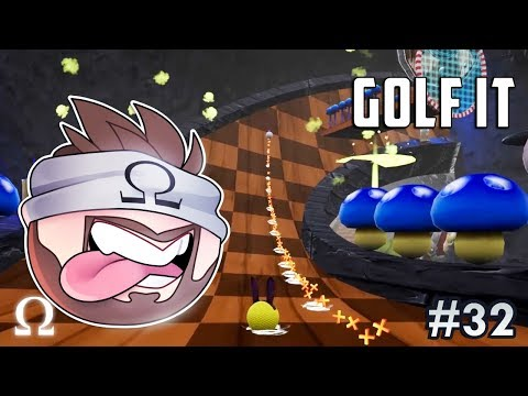 COOLEST MAP YET! (BOSS FIGHT + MORE!) | Golf It Funny Moments #32 Ft. Jiggly, Ze, Satt
