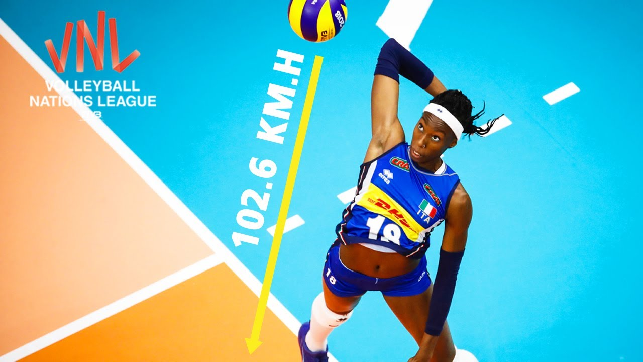 TOP 15 Spike Speed Powerful Spike | Women's FIVB Volleyball Nations League 2019