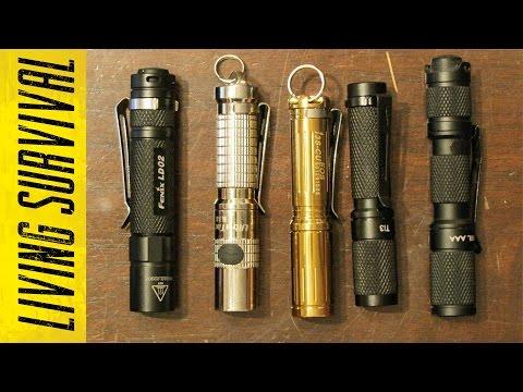 Top 5 Keychain Flashlights (AAA Sized)