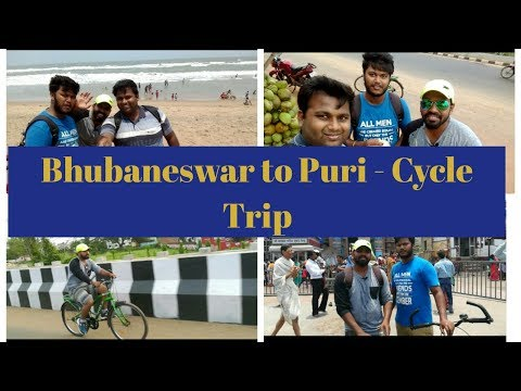 Bhubaneswar to Puri - Cycle Trip | First Video of it