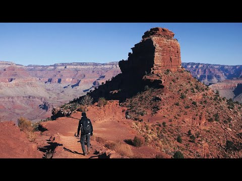 Hiking 25 Miles Alone in the Grand Canyon Rim to Rim