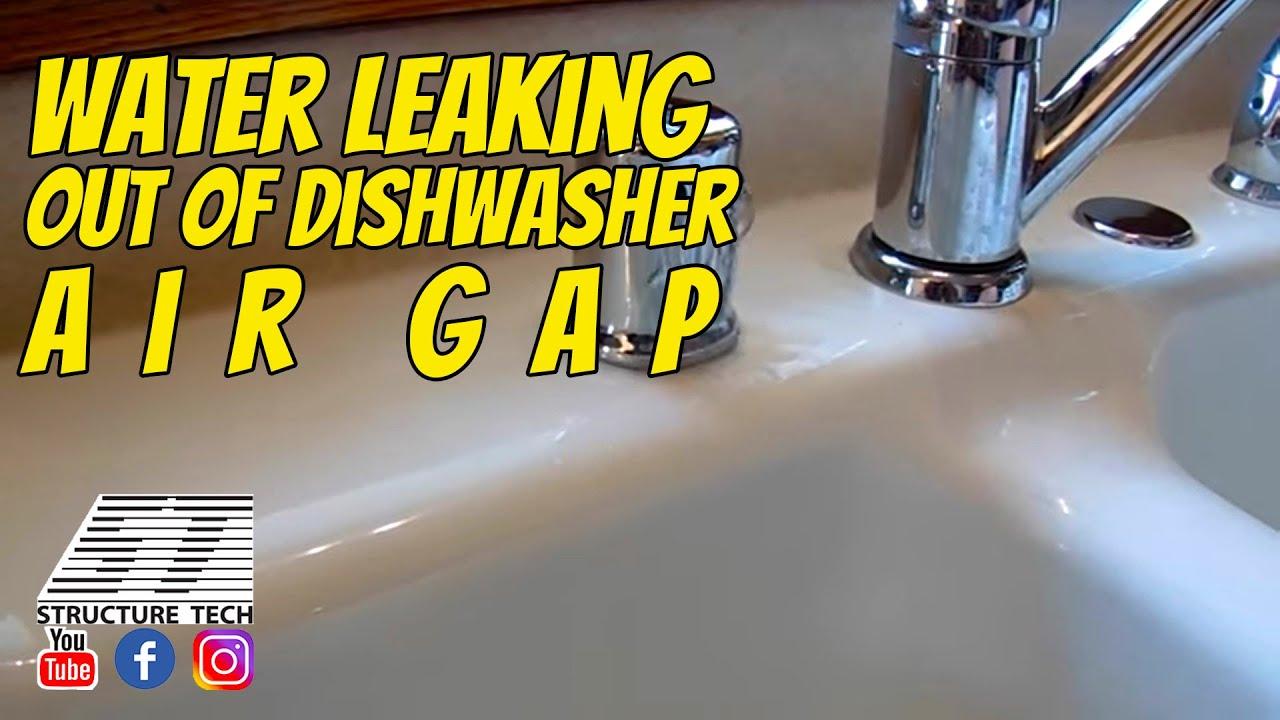 dishwasher air gaps structure tech