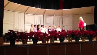 Capital Day School PK3 Christmas Song