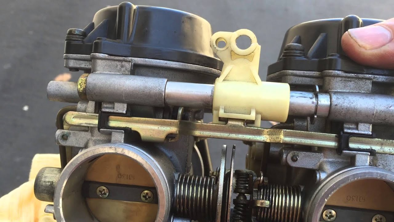 1993 Ducati 900ss carbs fuel inlet T excessive play  YouTube