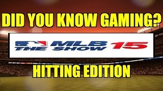 MLB 15 The Show - Did You Know???