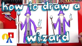 How To Draw A Wizard