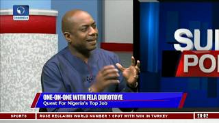 2019 presidential race fela durotoye explains why he is the best candidate politics today