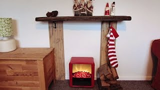 Diy Christmas Fireplace
