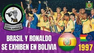 BRASIL CAMPEÓN COPA AMÉRICA BOLIVIA (1997) 🇧🇴  | Historia Copa América