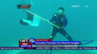 Pengibaran Bendera dalam Laut - NET24