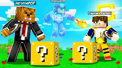 SWAPPING Minecraft Accounts To GHOST prank My Friends | JeromeASF