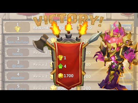 Castle Clash: Explaining My Arena Team Used To Reach Rank 1 + Live Battles Vs Top Players!