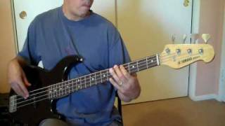"""I Just Called To Say I Love You""  (Stevie Wonder)  Bass Cover"