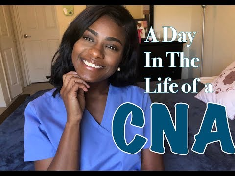 VLOG  |  MY FIRST DAY AS A CNA