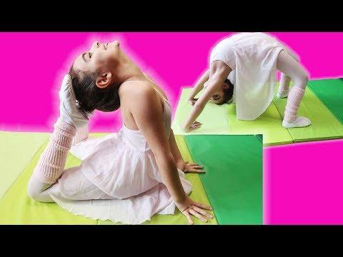 MİRA ile BALE DERSLERİ   Evde Bale Gösterisi   UmiKids