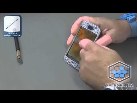 Tutorial de Desmontagem e Troca do Touch Screen Samsung Ace Duos S6802 - TELECELULA