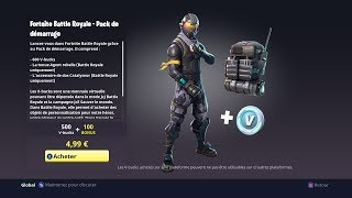 FORTNITE I BUY THE AGENT REBEL SKIN - I do a DEFIS