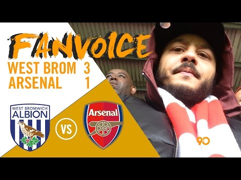 West Brom embarrass Arsenal 3-1 from Dawson & Robson-Kanu goals | West Brom 3-1 Arsenal | FanVoice