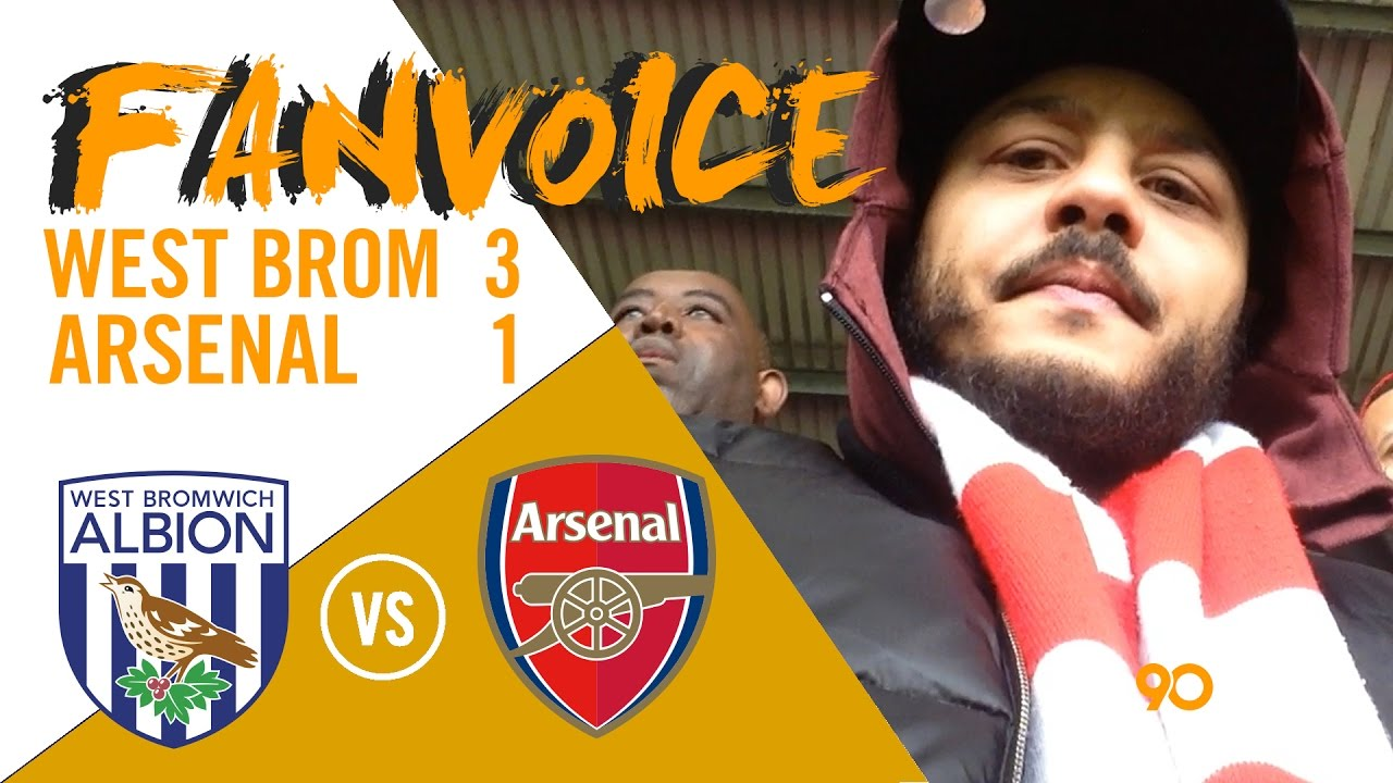Download West Brom embarrass Arsenal 3-1 from Dawson & Robson-Kanu goals | West Brom 3-1 Arsenal | FanVoice