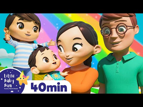 The Colors Song | +More Nursery Rhymes & Kids Songs - ABCs and 123s | Little Baby Bum