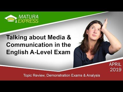Talking about Media & Communication - Zentralmatura Englisch September 2019 #8