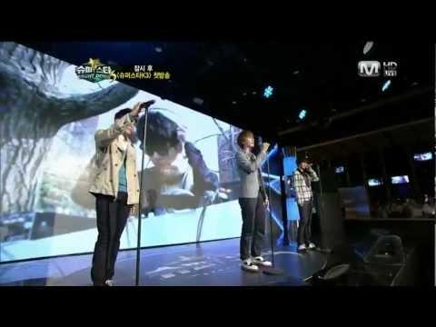 [HD] Super Junior KRY - Fly @ Mnet Super Star K3 110812